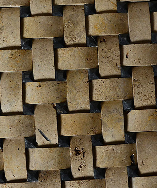 dekorativni kamen travertin ukrasni pleteni